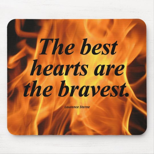 Brave Heart Mouse Pad