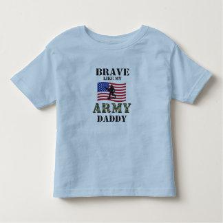 Brave Like My Army Daddy Shirt