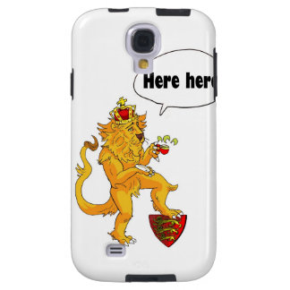 Brave Lion of England Galaxy S4 Case