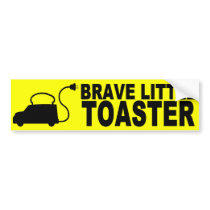 Brave Little Toaster Bumper Sticker