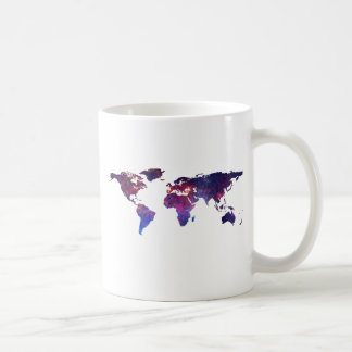 Brave New World Map Coffee Mug