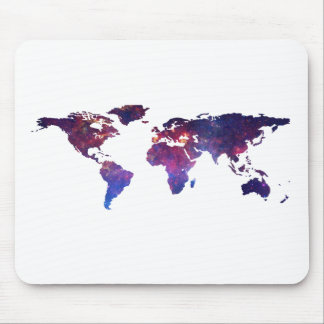 Brave New World Map Mouse Pad