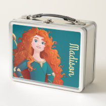 Brave Princess - Personalized Metal Lunch Box