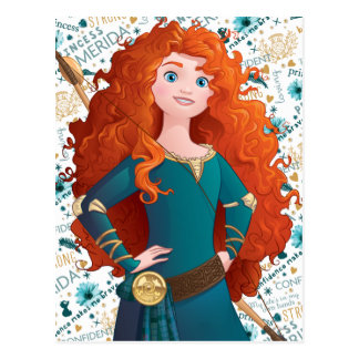 Brave Princess Postcard