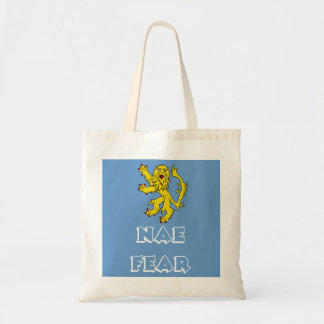 Brave Scottish Lion Rampant Tote Bag