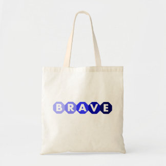 BRAVE shades of blue tote for boys