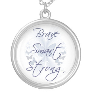 Brave Smart Strong Necklace