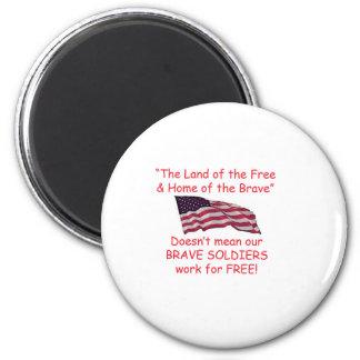 Brave Soldiers Fridge Magnets