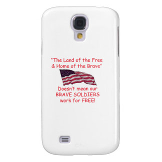 Brave Soldiers Galaxy S4 Case