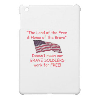 Brave Soldiers iPad Mini Covers