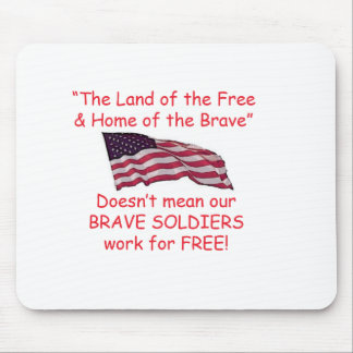 Brave Soldiers Mouse Pads