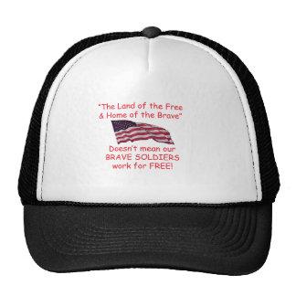 Brave Soldiers Trucker Hat