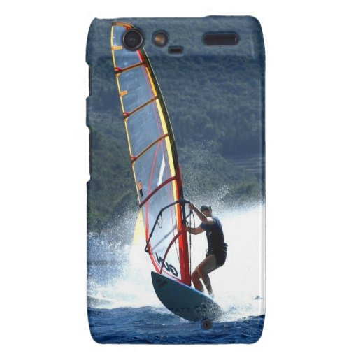 brave surfing sea and wave droid RAZR cases