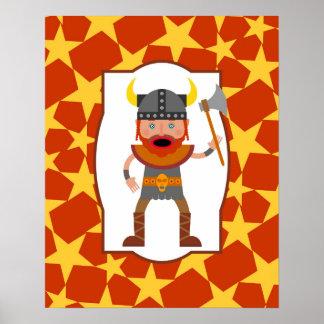 Brave viking poster