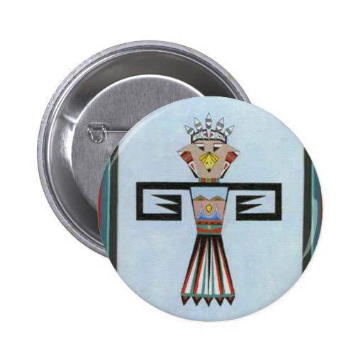 BraveHawk2 Pin Redondo 5 Cm