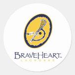 BraveHeart Corp Logo Sticker