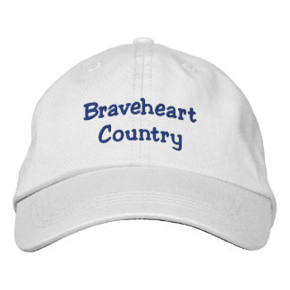 Braveheart Country Adjustable Hat Embroidered Baseball Caps