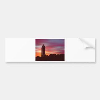 Braveheart Dawn (Digital Art) by David Elder Bumper Sticker