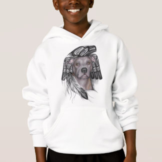 BraveHeart Pit Bull Rescue Hooded Sweatshirt