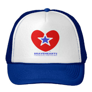 Bravehearts Logo Trucker Hats