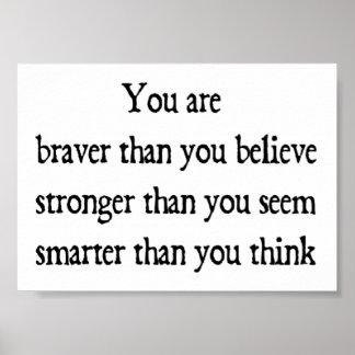 Braver Poster
