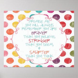 Braver, Stronger, Smarter Poster