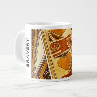 BRAVERY GIANT COFFEE MUG