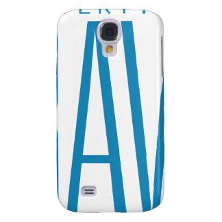 #Bravery Gifts - Light Blue on White Samsung Galaxy S4 Case
