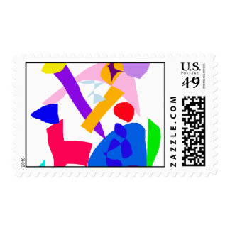 Bravery Present Time No Matter Health Event Postage Stamp