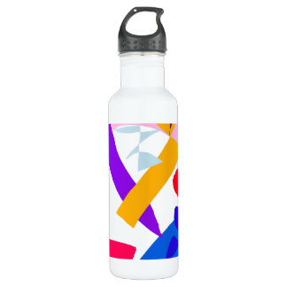 Bravery Time No Matter Health Event 24oz Water Bottle
