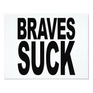 Braves Suck Card