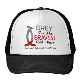 Bravest Child I Know Juvenile Diabetes Mesh Hats