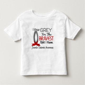 Bravest Child I Know Juvenile Diabetes T Shirt