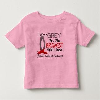 Bravest Child I Know Juvenile Diabetes Toddler T-shirt