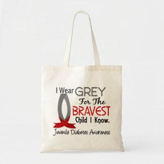 Bravest Child I Know Juvenile Diabetes Tote Bag