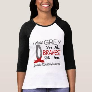 Bravest Child I Know Juvenile Diabetes Shirts