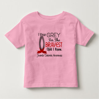 Bravest Child I Know Juvenile Diabetes Tshirt