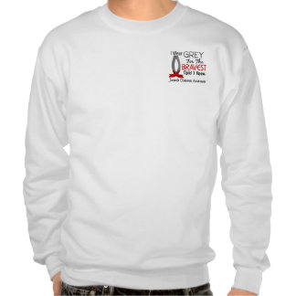 Bravest Child I Know Juvenile Diabetes Pull Over Sweatshirts