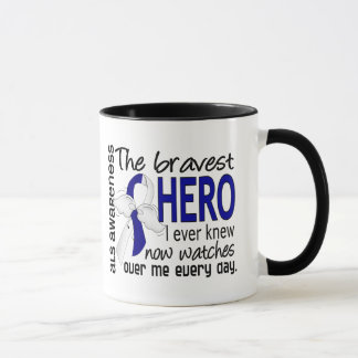 Bravest Hero I Ever Knew ALS Mug