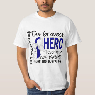 Bravest Hero I Ever Knew ALS T-Shirt
