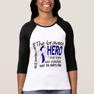 Bravest Hero I Ever Knew ALS Tee Shirt