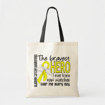 Bravest Hero I Ever Knew Bladder Cancer Tote Bag