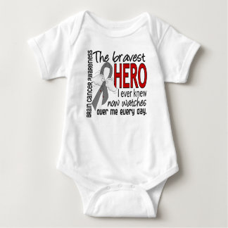 Bravest Hero I Ever Knew Brain Cancer Baby Bodysuit