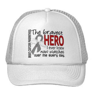 Bravest Hero I Ever Knew Brain Cancer Hat