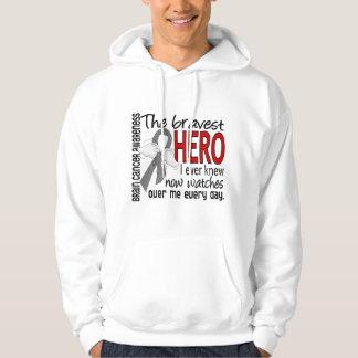 Bravest Hero I Ever Knew Brain Cancer Hoodie