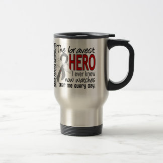 Bravest Hero I Ever Knew Brain Cancer Mug