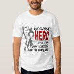 Bravest Hero I Ever Knew Brain Cancer T Shirt