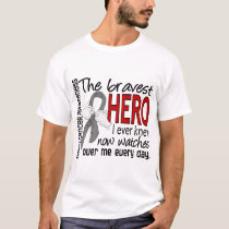 Bravest Hero I Ever Knew Brain Cancer T-Shirt