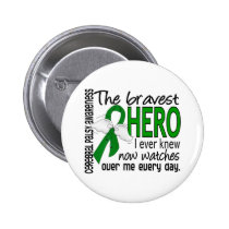 Bravest Hero I Ever Knew Cerebral Palsy Pinback Button