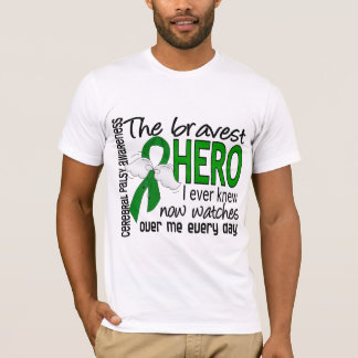 Bravest Hero I Ever Knew Cerebral Palsy T-Shirt